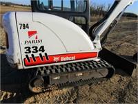 BOBCAT 331 MINI-EXCAVATOR | Wisconsin Tractor
