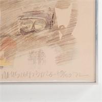 Robert Rauschenberg. Untitled, offset lithograph