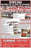 CLARK ESTATE - NICE HOME - 20+ GUNS - 100+ CASE KNIVES & MOR