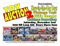 Christmas Toy & Decoration Auction