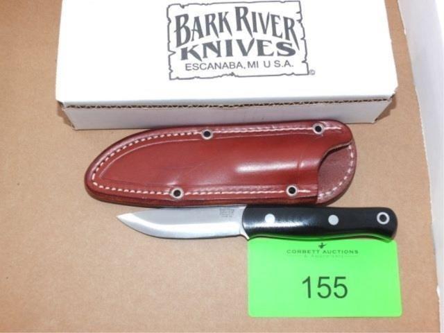 BARK RIVER KNIVES - BUSHCRAFTER ULTRALITE, CPM3V, | Corbett Auctions
