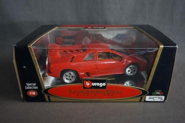 Bburago Lamborghini Diablo 1990 1 18 Diecast Model Trinity Auction