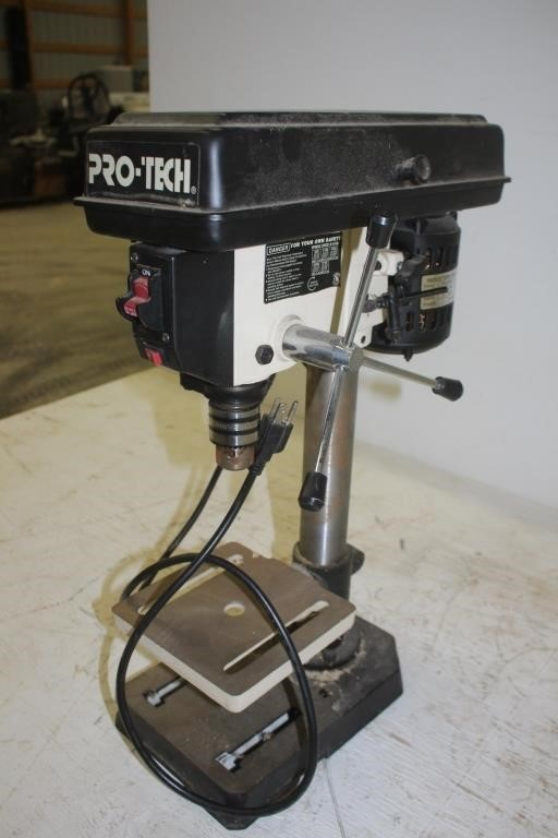 Pro Tech 8 Quot 5 Speed Bench Top Drill Press Spencer Sales