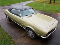 1968 Chevrolet Camaro 327/Auto ABSOLUTE Auction Item
