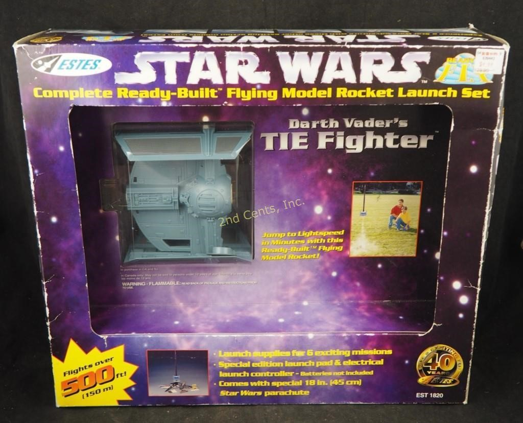 Star Wars Darth Vader Tie Fighter Estes Rocket | 2nd Cents Inc