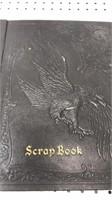 "1930' - 1940's Hand Made Sports Scrapbook 15x12"""