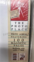 Lot of 6 Vintage Unused Photo Books 4 still in