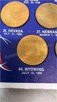 1969 Shell Oil Company Complete States of the