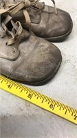 Lot of Vintage Leather Baby Shoes Plus 1 pair