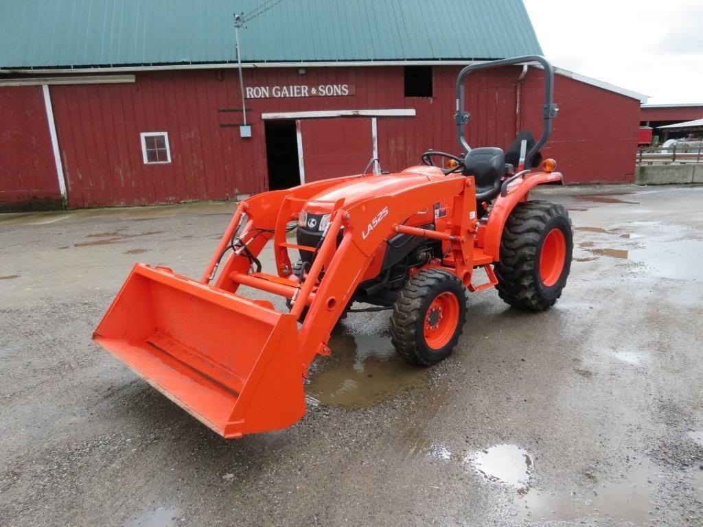 Kubota L3901 Compact Tractor | HiBid Auctions