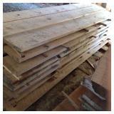 "2"" Thick Rough Cut Oak Lumber"
