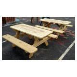FFA Built Picnic Tables