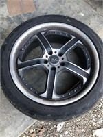 4 Lorenzo Rims with Tires