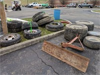 Various Tires on Rims