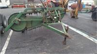 John Deere 350A Hay Rake PTO Driven