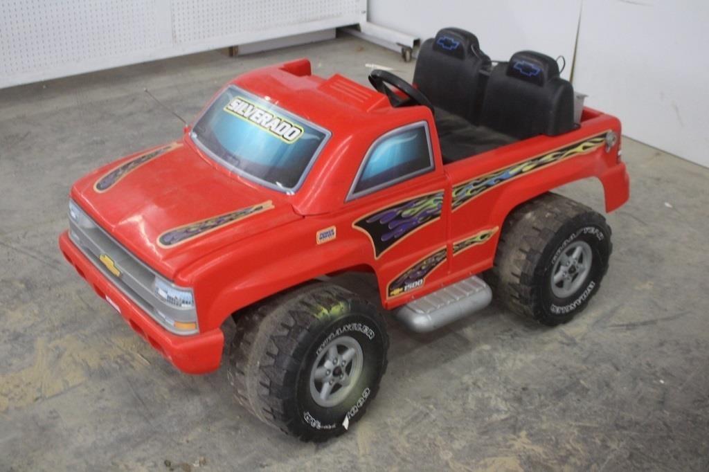Chevy Power Wheels >> Chevy Silverado 1500 12 Volt Electric Power Wheels Spencer Sales