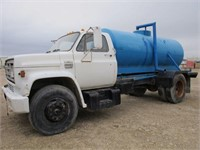 1979 GMC 6000 Water Truck W/1500 Gallon Water Tank | Western