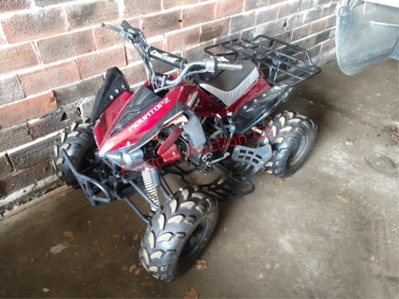 2012 Coolster Mountopz 125cc ATV, manual shift (3   HiBid