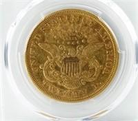 1871-S U.S LIBERTY HEAD DOUBLE EAGLE $20 GOLD COIN