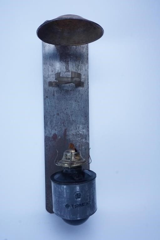 ANTIQUE PENNSYLVANIA RAILROAD CABOOSE OIL LAMP | HiBid Auctions