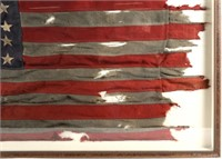 IMPORTANT WWII D-DAY FLOWN FLAG LCT 530 UTAH BEACH