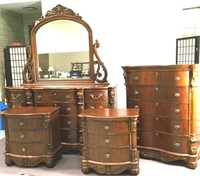 Online Only High-End Furniture-Antiques-Fitness Equip-Hshld