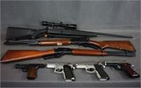 Firearms Guns Ammo Pistol Rifle Shotgun