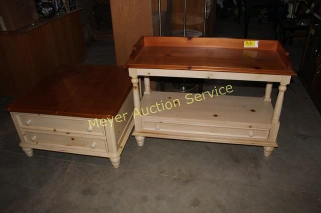 Broyhill Sofa Table Coffee Table Meyer Auction Service
