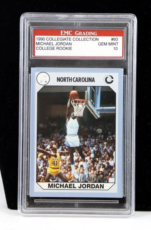1990 Collegiate Michael Jordan Basketball Card Big Als