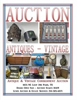 October Consignment Auction - Lewis Auction Services