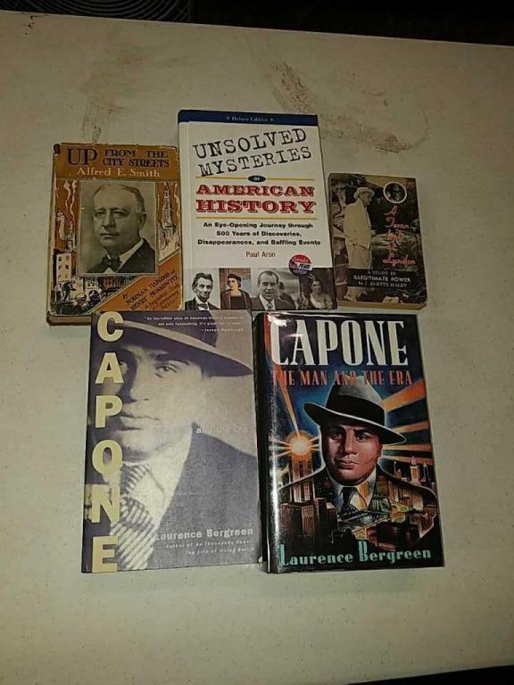 Al Capone books, Unsolved Mysteries of American | Coast 2