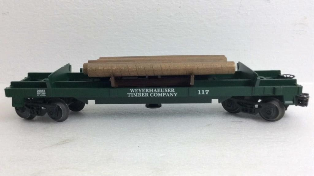 Weyerhaeuser Timber Company Lionel 117 Car | Christys of Indiana