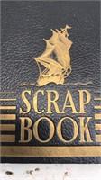 Antique Dated 1938 WW2 Era Scrap Book 12x9