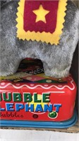 Vintage Battery Operated Bubble Blowing Elephant