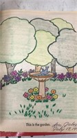 Lot of 12 Vintage Children's Coloring Books