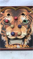 Vintage Tiger Roll Board Game Game Makers Co NY