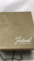 Vintage Federal Department Store Hat Box with