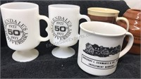 Lot of 14 Coffee Mugs-10 Ceramic 4 plastic