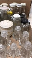 Box Lot of Salt and Pepper Shakers