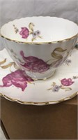 Lot of 3 Bone China Cup and Saucer Sets