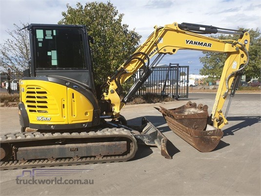 2014 Yanmar VIO55-6B Heavy Machinery for Sale