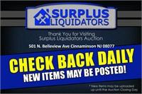 Cinnaminson NJ Home Improvement Auction 4/11