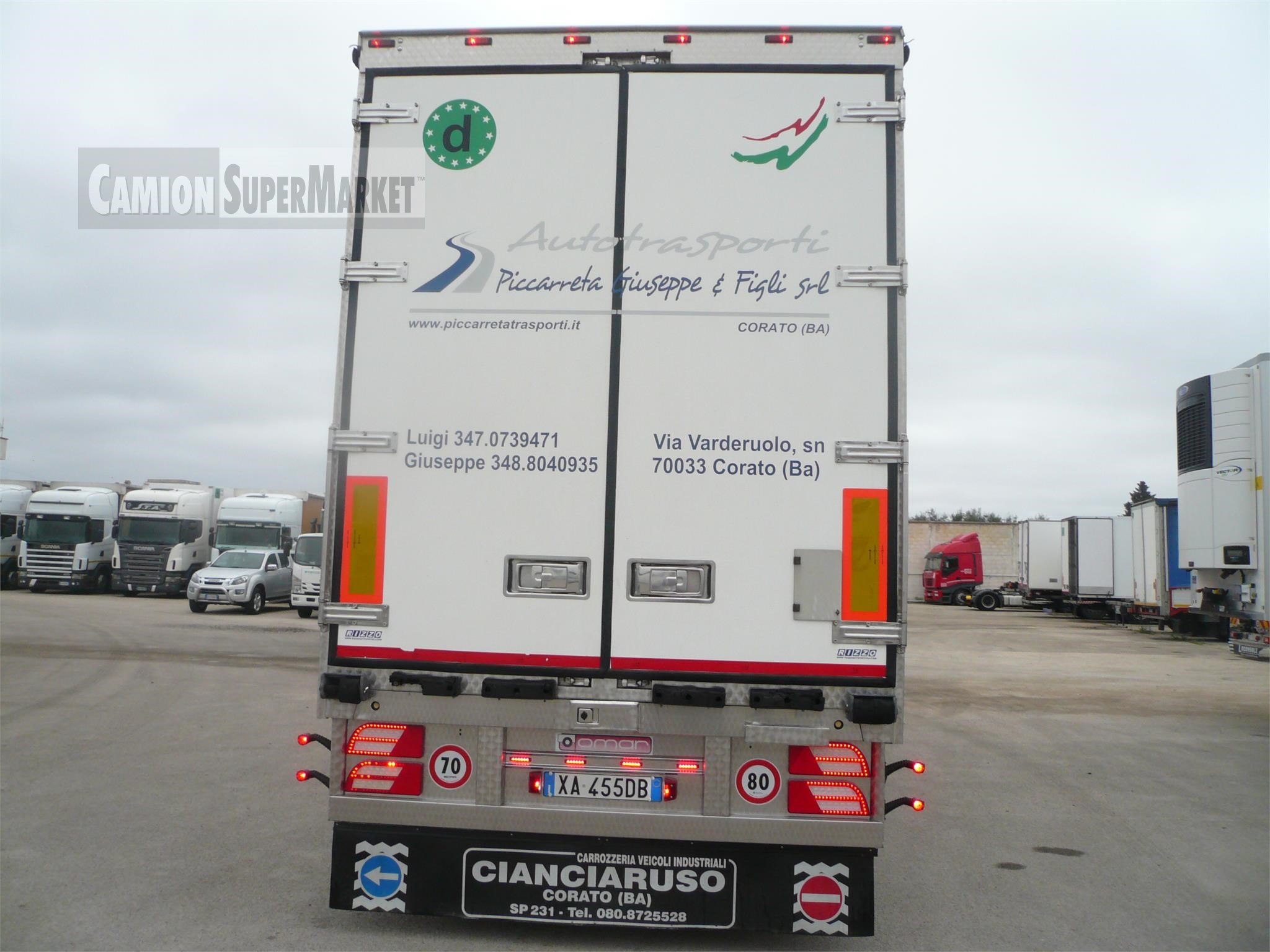 OMAR|SRL OMAR SRL Uzywany 2015 Puglia