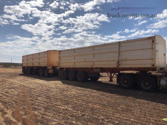 1992 Freightmaster Tipper Trailer Grain Trailers