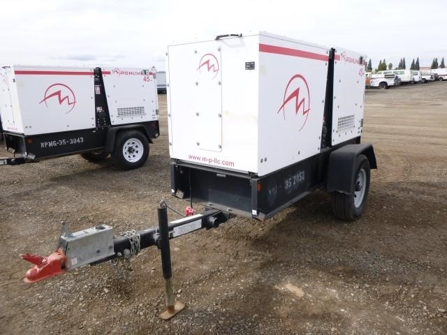 2012 Magnum MMG45 Towable Generator | Bar None Auction