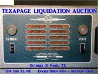 TEXAPAGE LIQUIDATION AUCTION