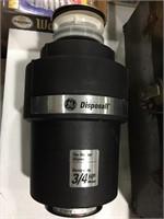 3/4 hp Garbage Disposal