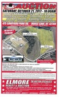 CHANEY ESTATE-53+/- AC. IN TRACTS-NISSAN TRUCK-ANTIQUES-ETC