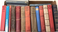 Lot of 18 Antique And Vintage Books
