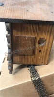 """Vintage Coo-Coo Clock 6x6x6"""" untested appears"""